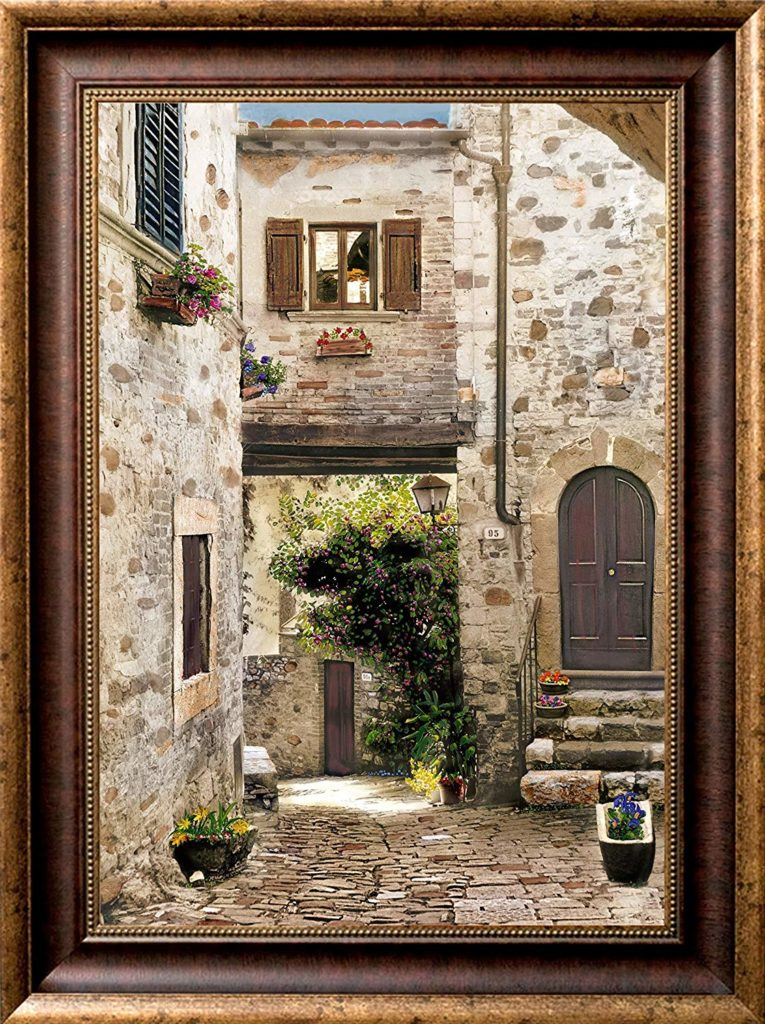 Tuscan Reflections Framed